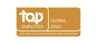 Top Employer Global 2020 award