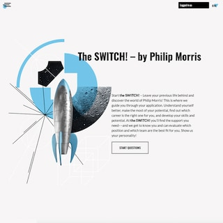 The Switch: A new self-assessment tool for a career at Philip Morris