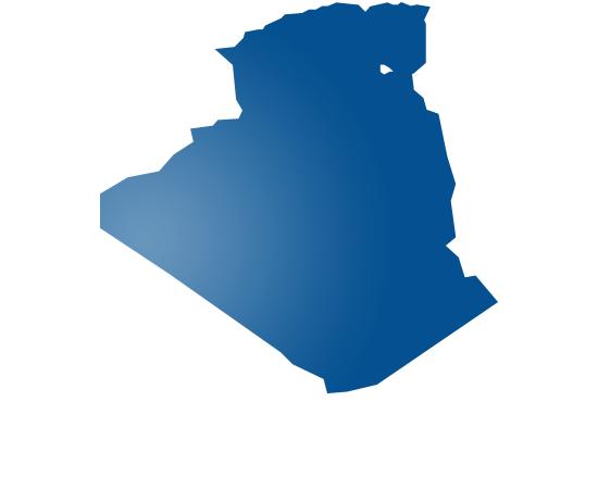 algeria - shape