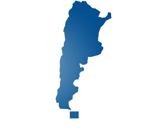argentina - shape