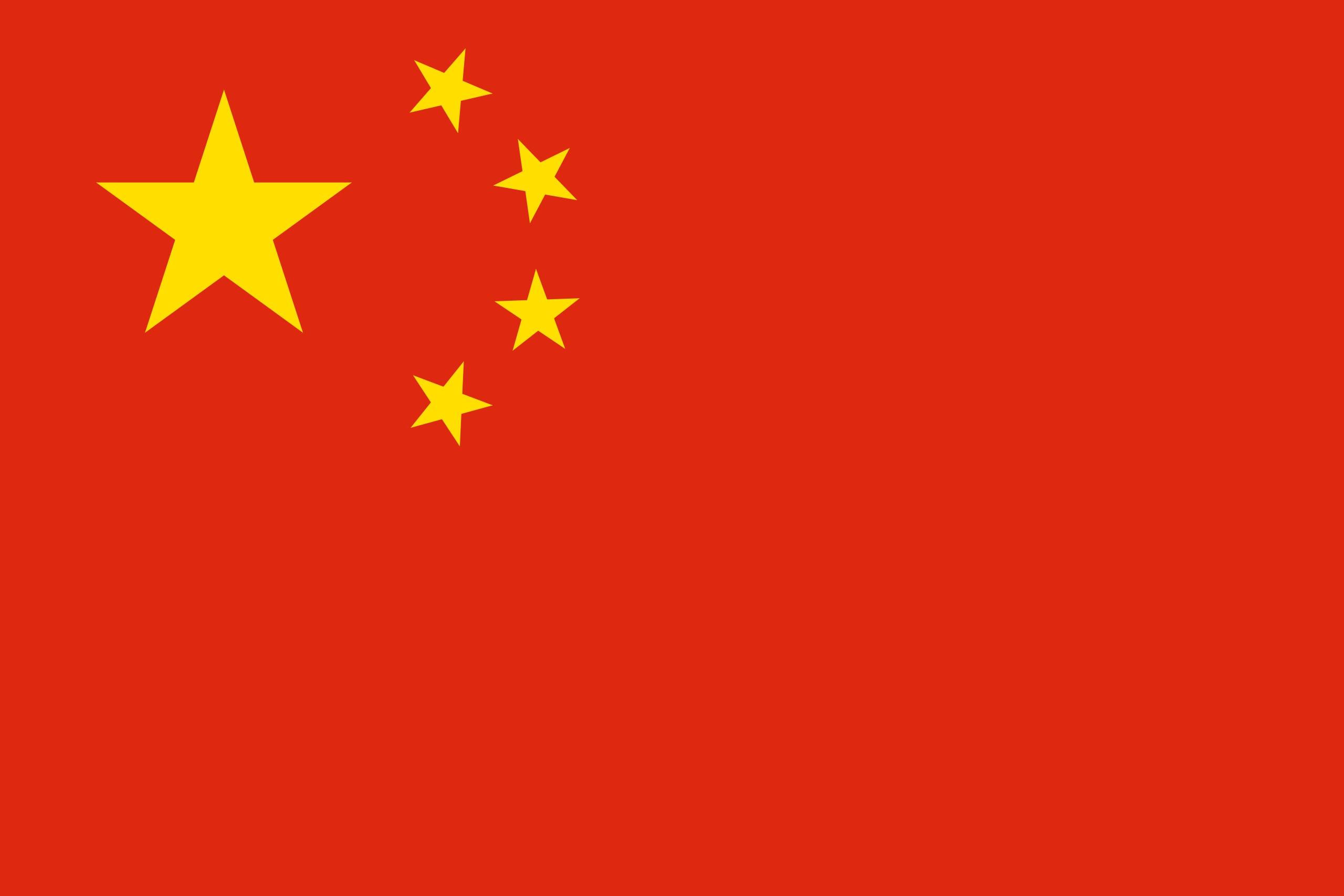 china - shape