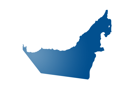 United Arab Emirates - shape