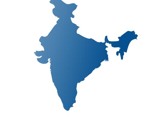india - shape