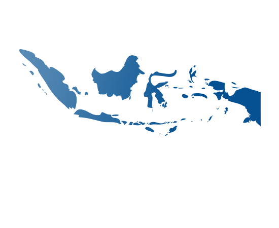indonesia - shape
