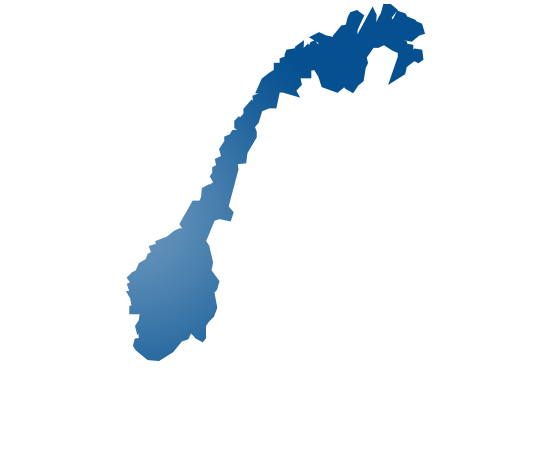 norway - shape