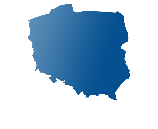 poland - shape