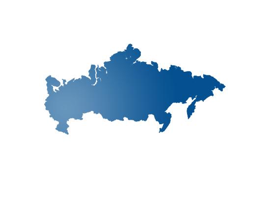 russia - shape