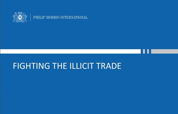 Philip Morris International expresses concern with slow ratification of the WHO Anti-Illicit Trade Protocol.