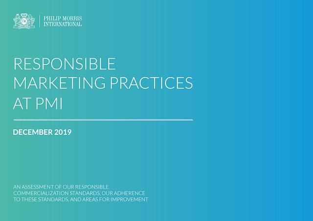 Responsible Marketing Practices at PMI