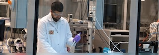 scientist in lab topic highlight