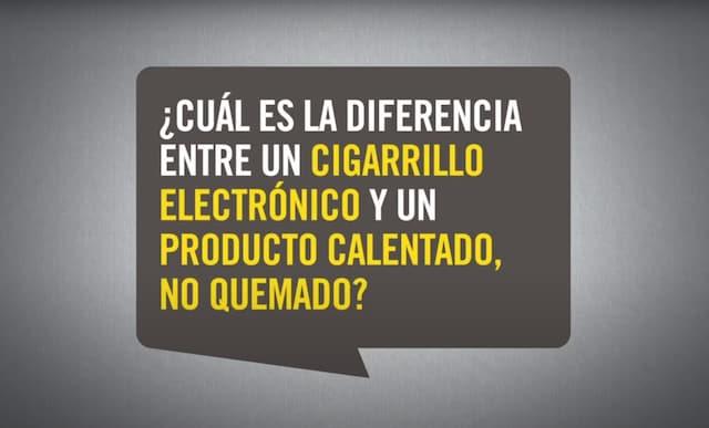 Cuál es la diferencia entre un cigarrillo electrónico y un producto calentado, no quemado thumbnail