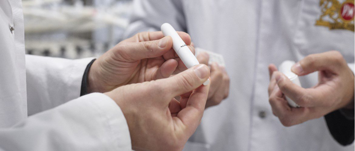 marketsite scientists with IQOS