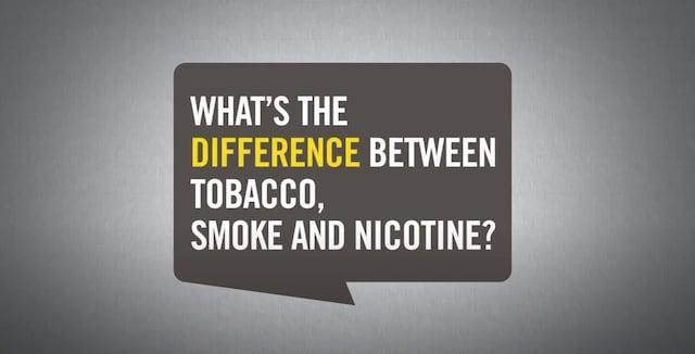 difference smoke tobacco nicotine_UYM