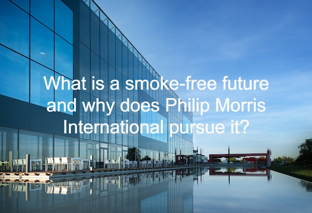 What is a smoke-free future (1)