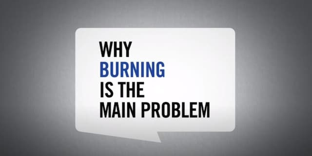 why burning is the main problem_web