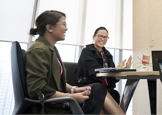 Female PMI employees The Philippines