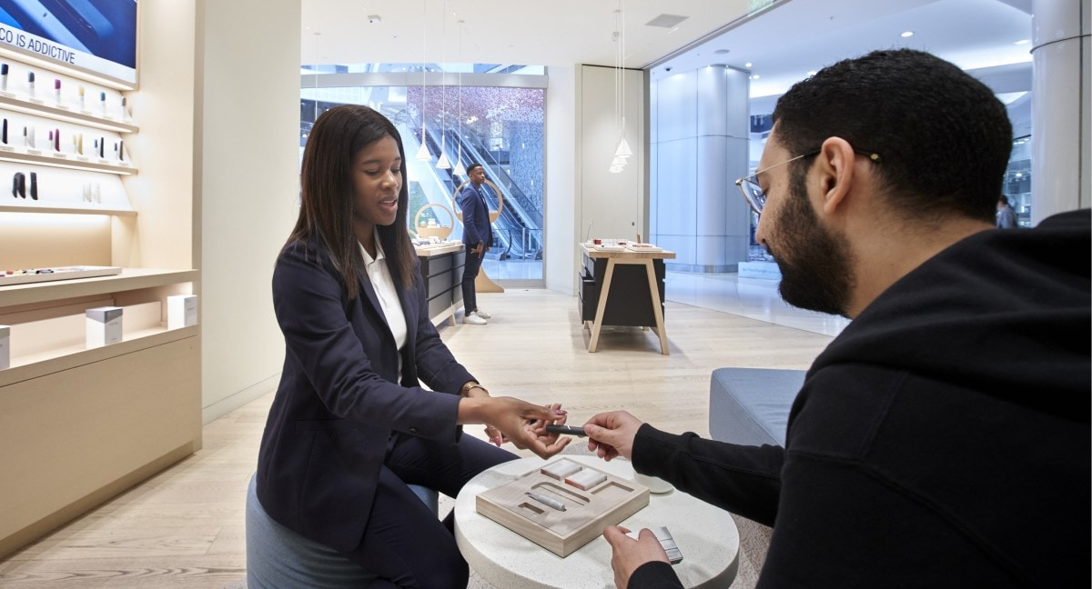 IQOS store Johannesburg South Africa