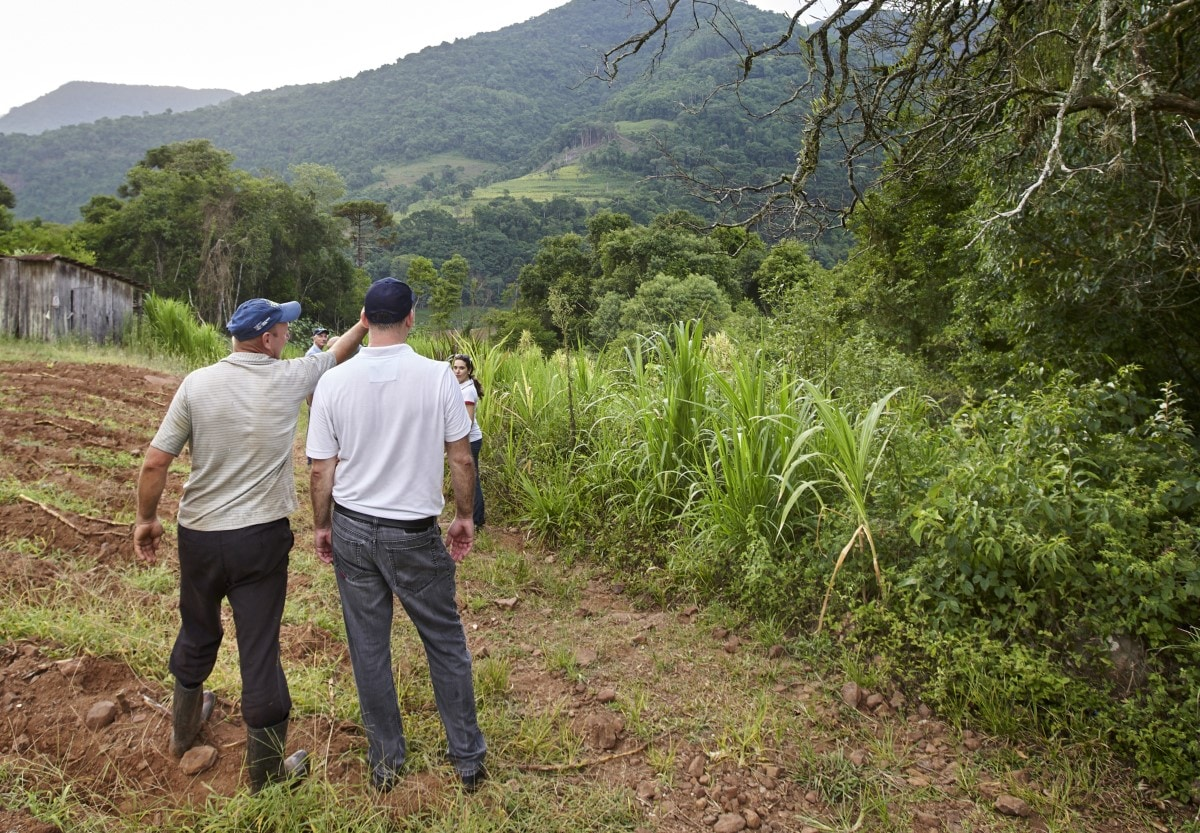 Tobacco farmers Sanat Cruz do Sul Brazil