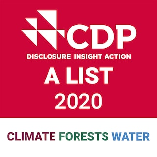 CDP Disclosure Insight Action A List 2020 stamp