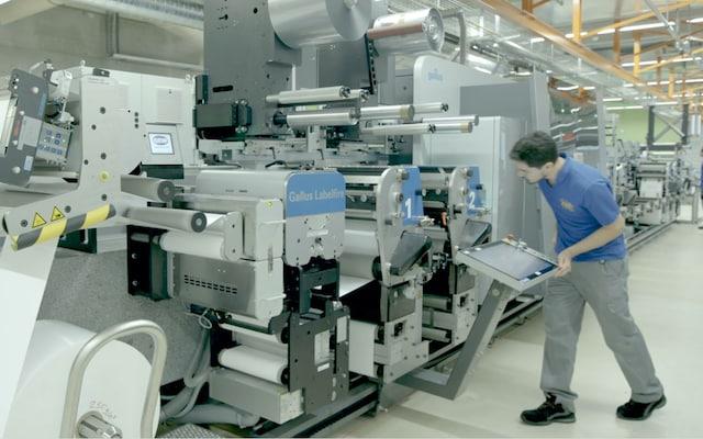 Digital Printing Press PMI supply chain award