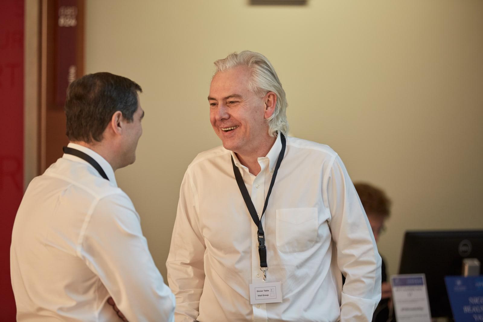 Jacek Olczak conference