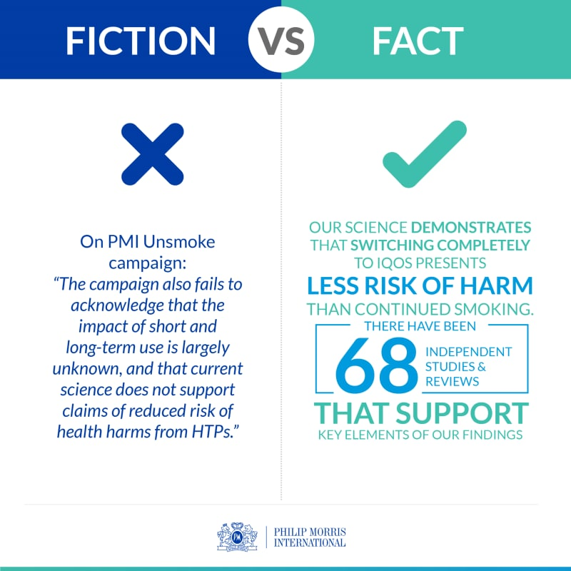 WHO Report Tobacco Fact versus Fiction infographic 4