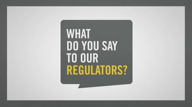 UYM what do you say to regulators video thumbnail