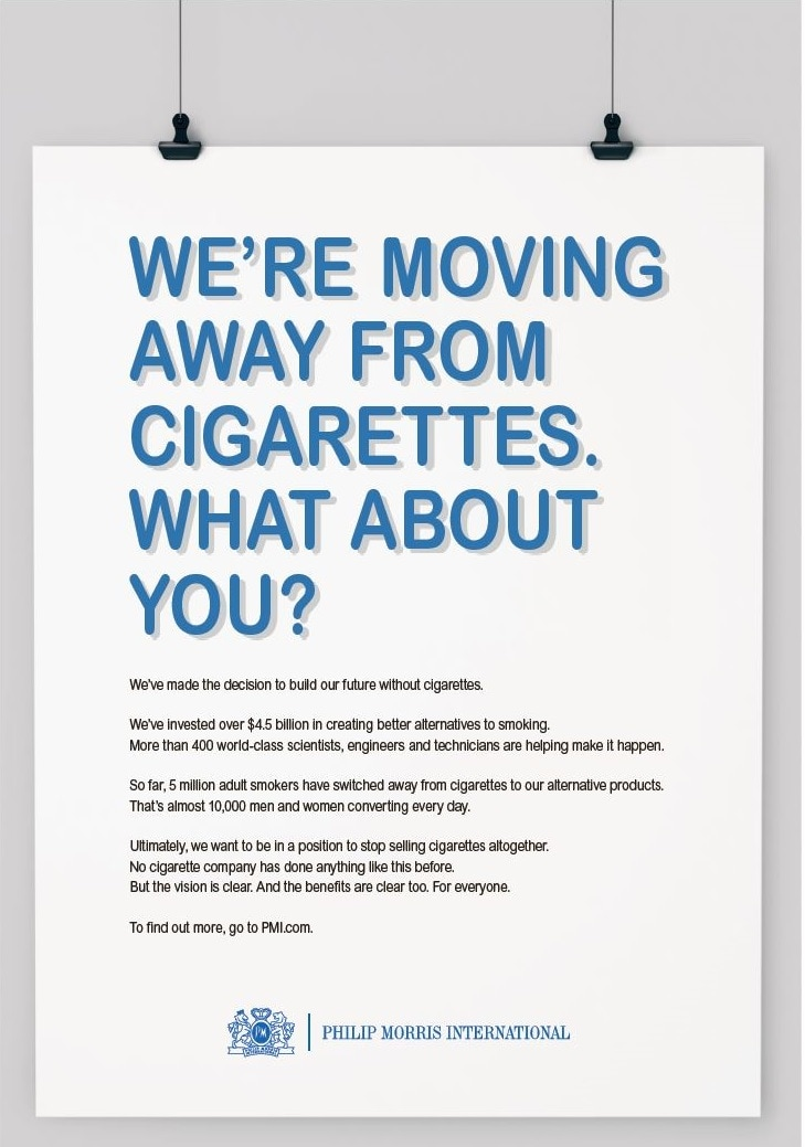 WNTD-Moving away from cigarettes