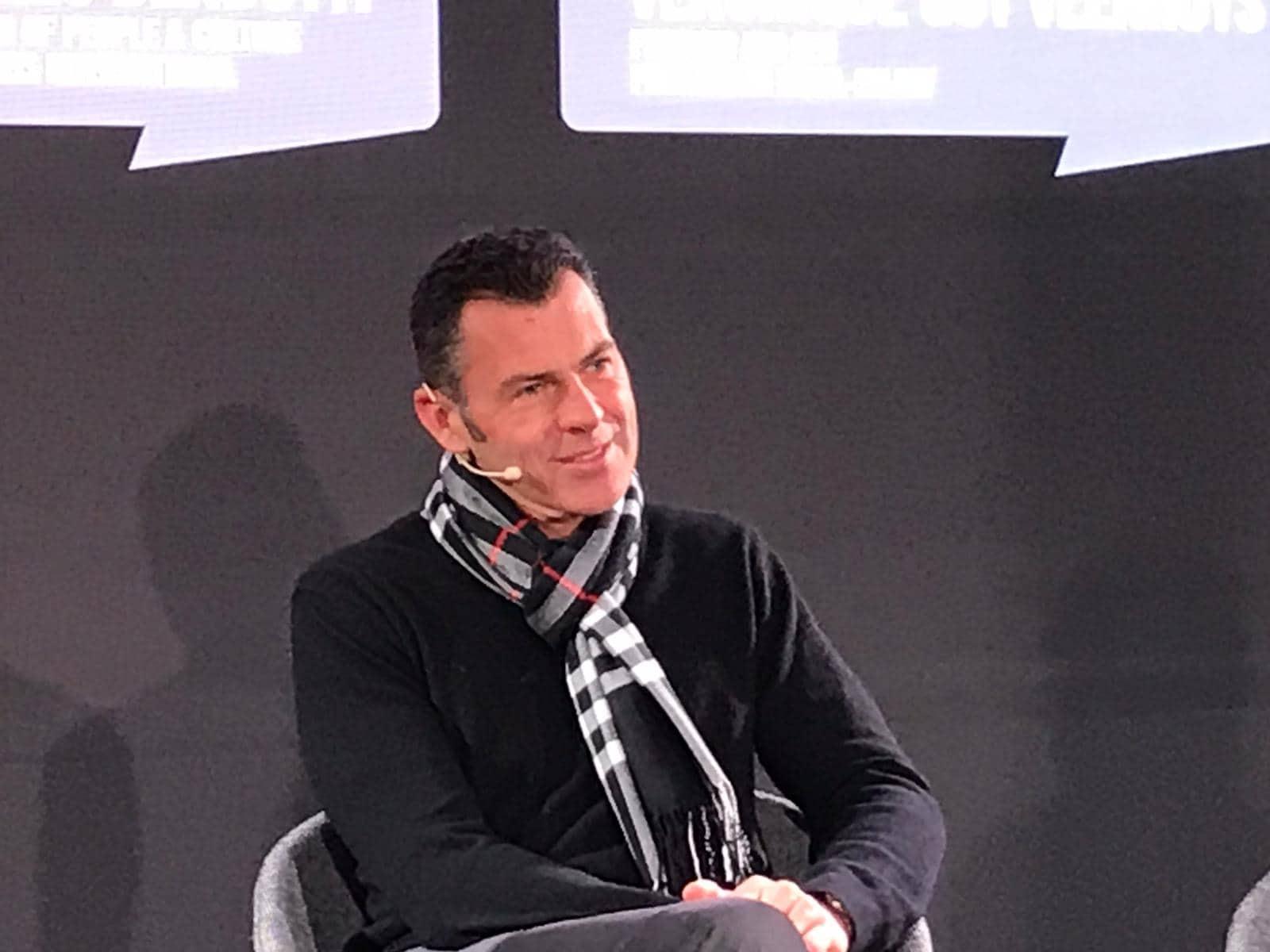 Charles Bendotti PMI equal salary Davos panel