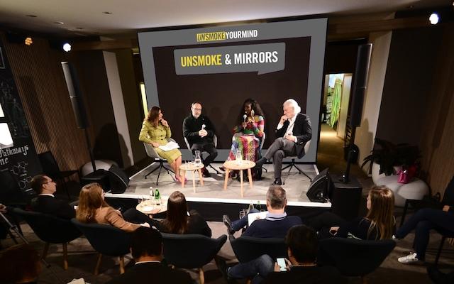 Jimmy Wales PMI panel discussion unsmoke mirrors