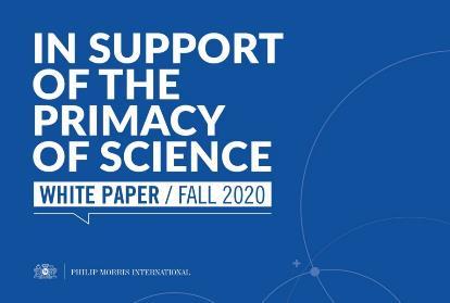 Primacy of science whitepaper cover