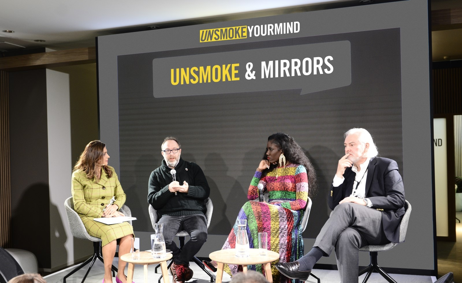 Unsmoke Mirrors panel Davos Jimmy Wales