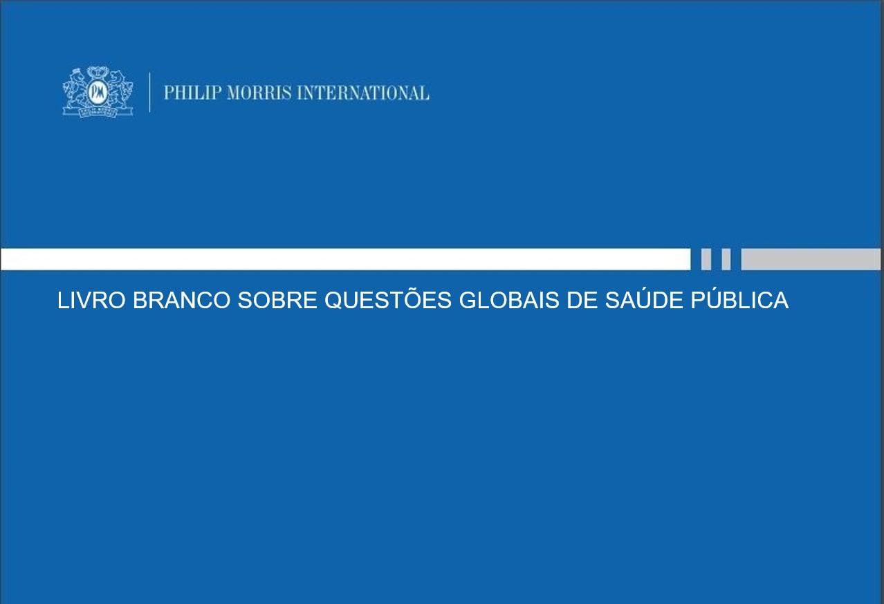 Livro Branco sobre questões globais de saúde pública