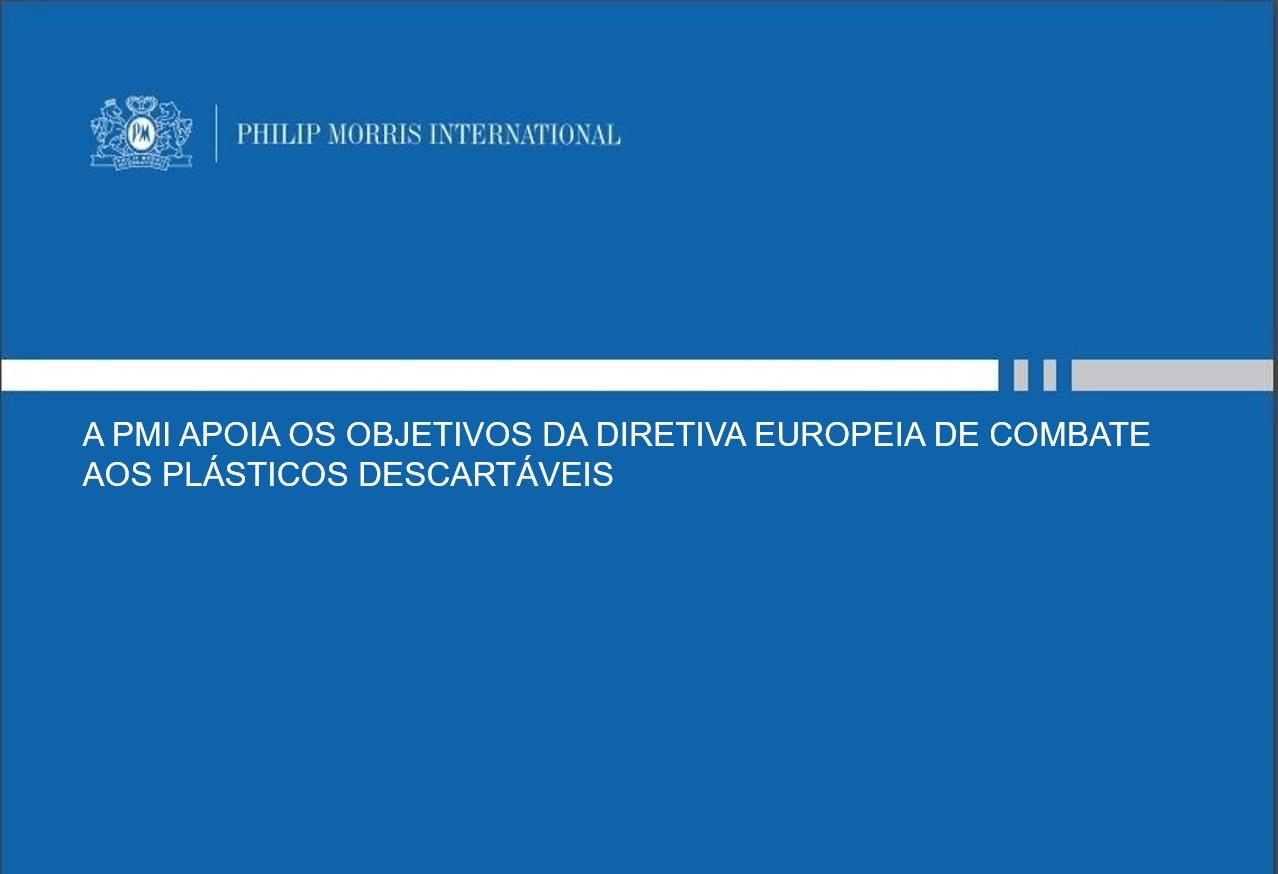 DIRETIVA EUROPEIA DE COMBATE AOS PLÁSTICOS DESCARTÁVEIS