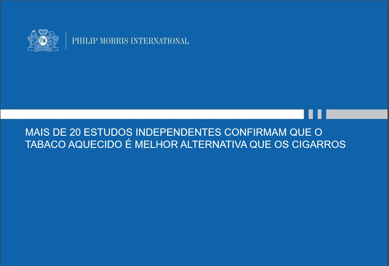 mais de 20 estudos independentes