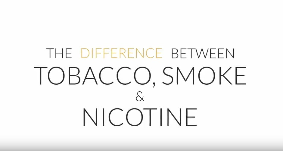Difference between tobacco