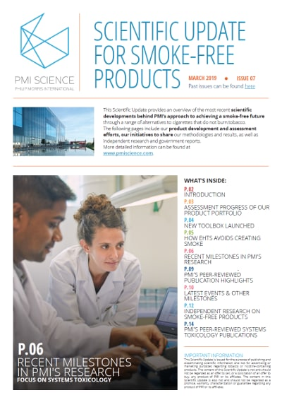 Our Findings to Date | PMI - Philip Morris International