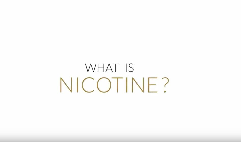 What is nicotine still
