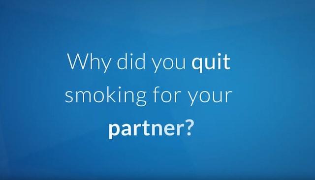 Quit smoking partner still