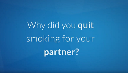Quit smoking partner still