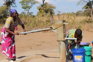 Mozambique water borehole