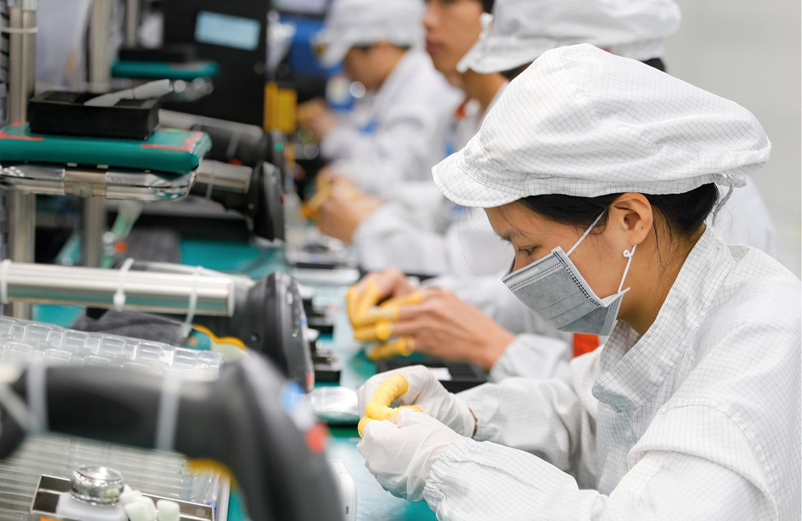 social impacts electronics supply chain case study