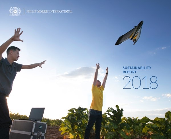 PMI Sustainability Report 2018 cover