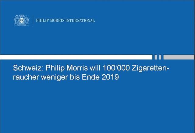 Weniger Zigarettenraucher in 2019 dank IQOS