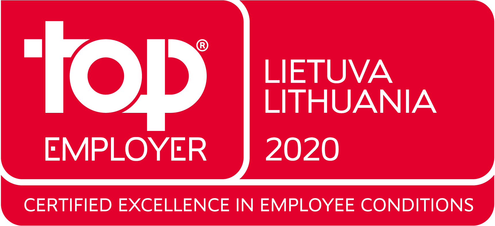 Top Employer Lithuania 2020