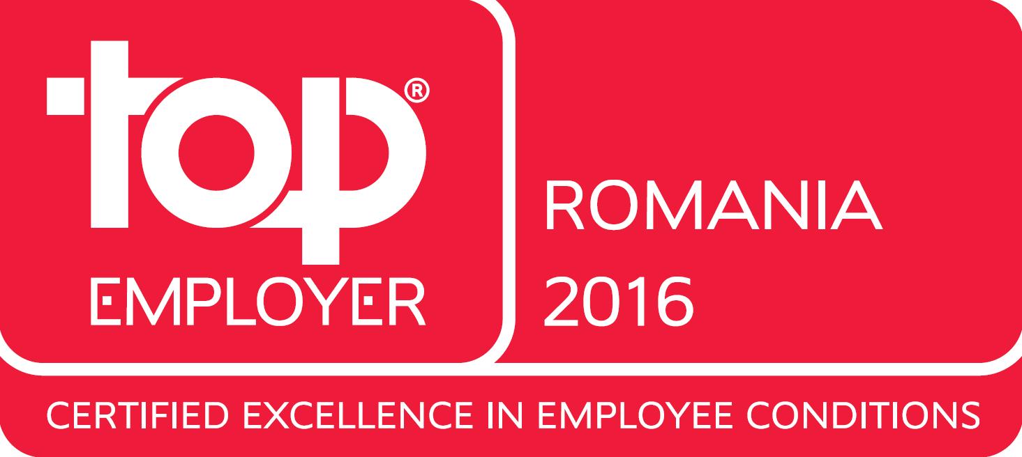 Top Employer Romania English 2016