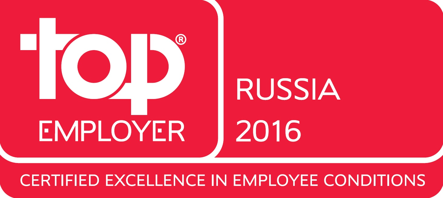 Top Employer Russia English 2016