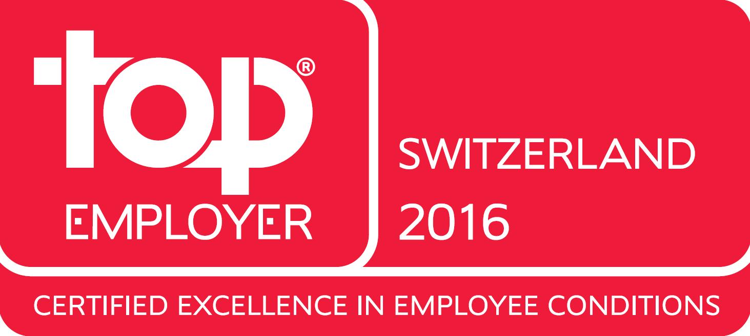 Top Employer Switzerland English 2016