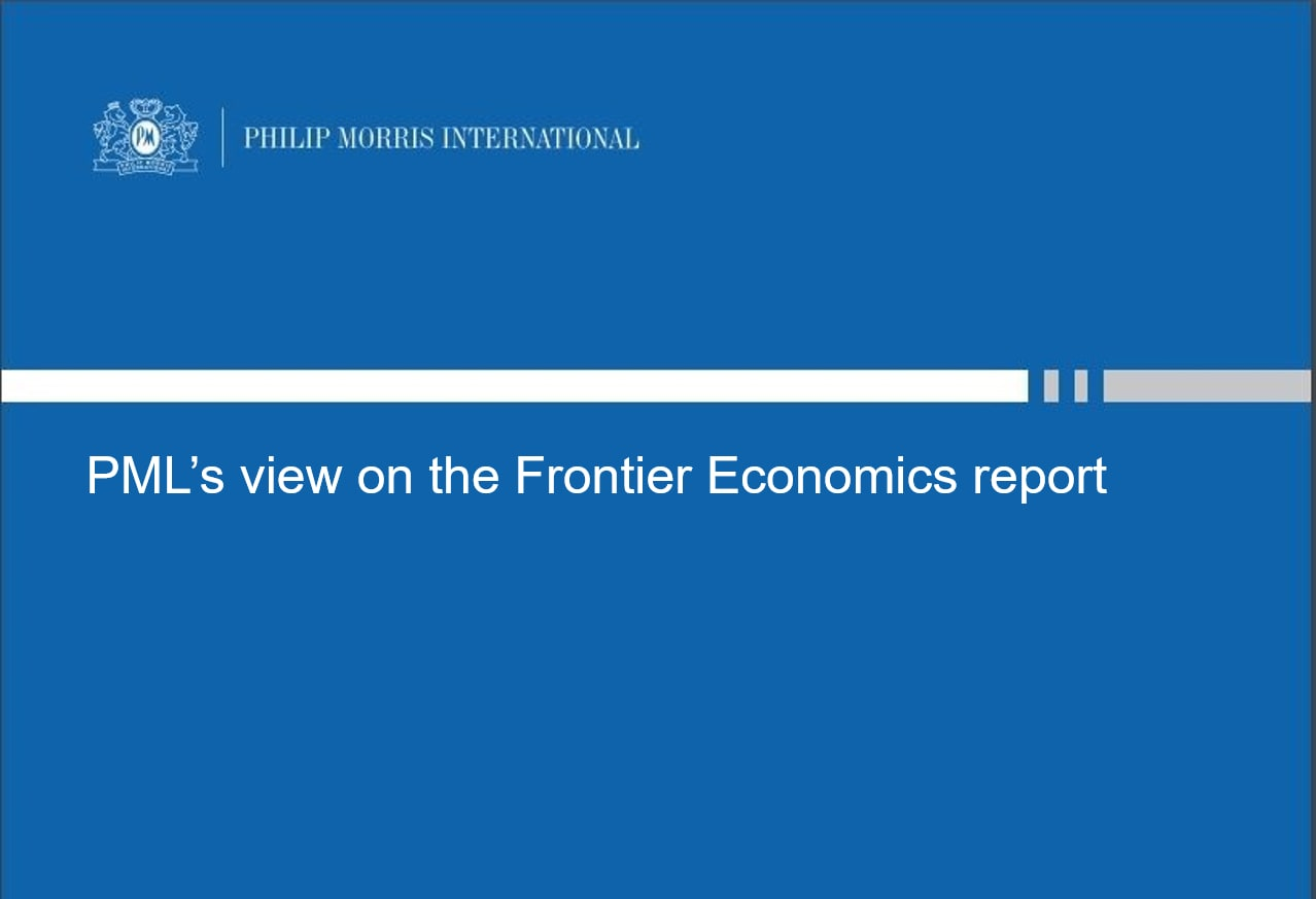 PML view frontier economics report