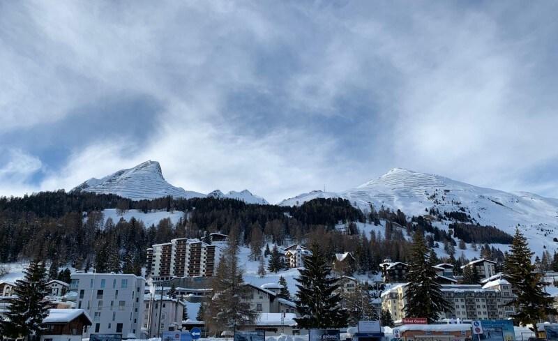 Davos village for PMI.com